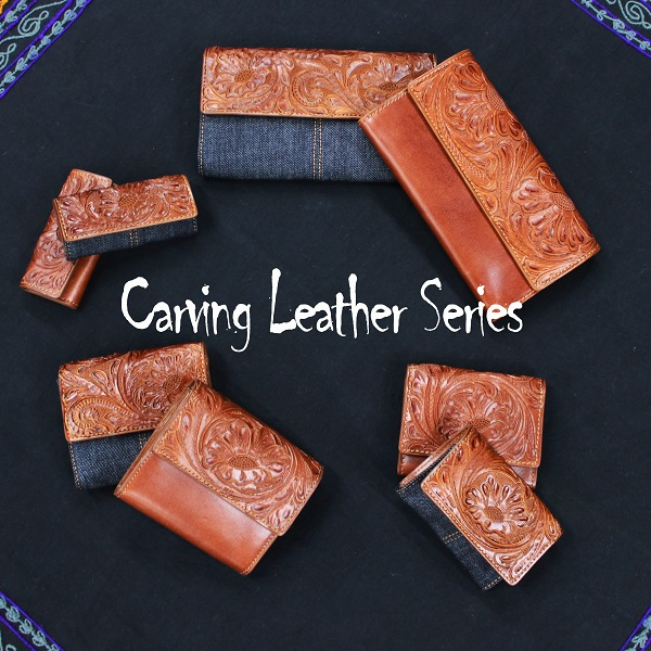 NEW CARVING LEATHER SERIES